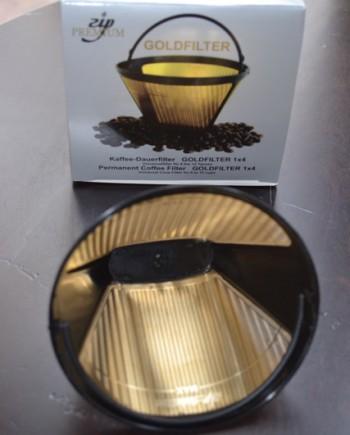 koffie goud filter